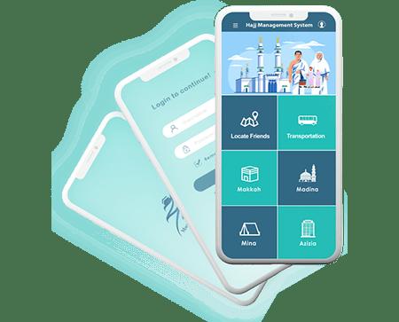 Hajj Management System Mobile App