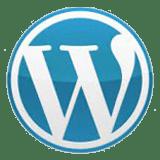 wordpress png round logo 160x160
