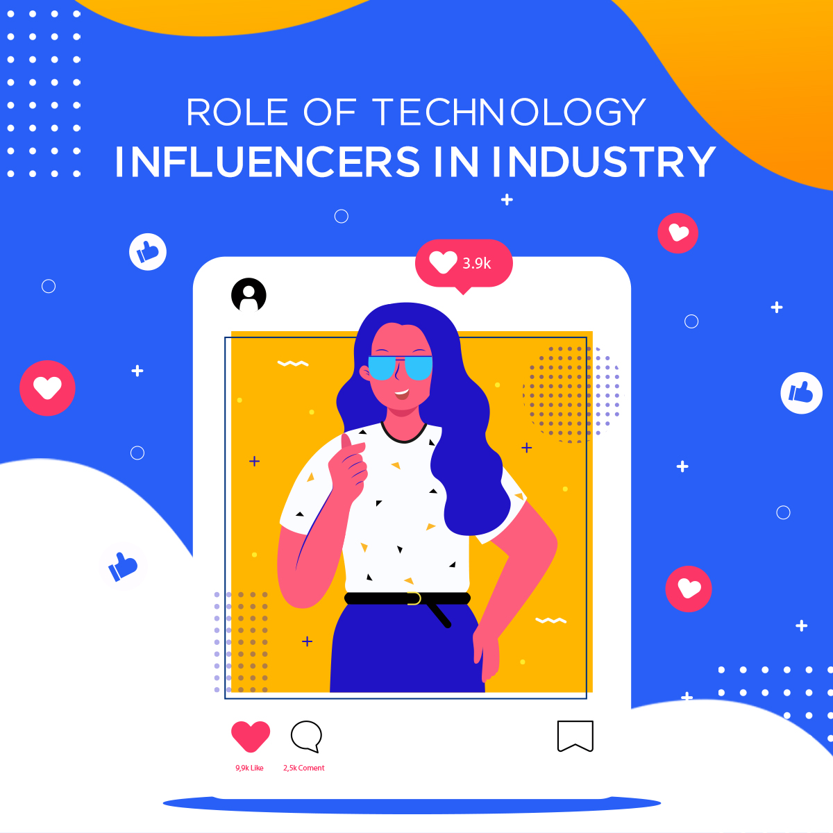 banner role of technology influencers in industry