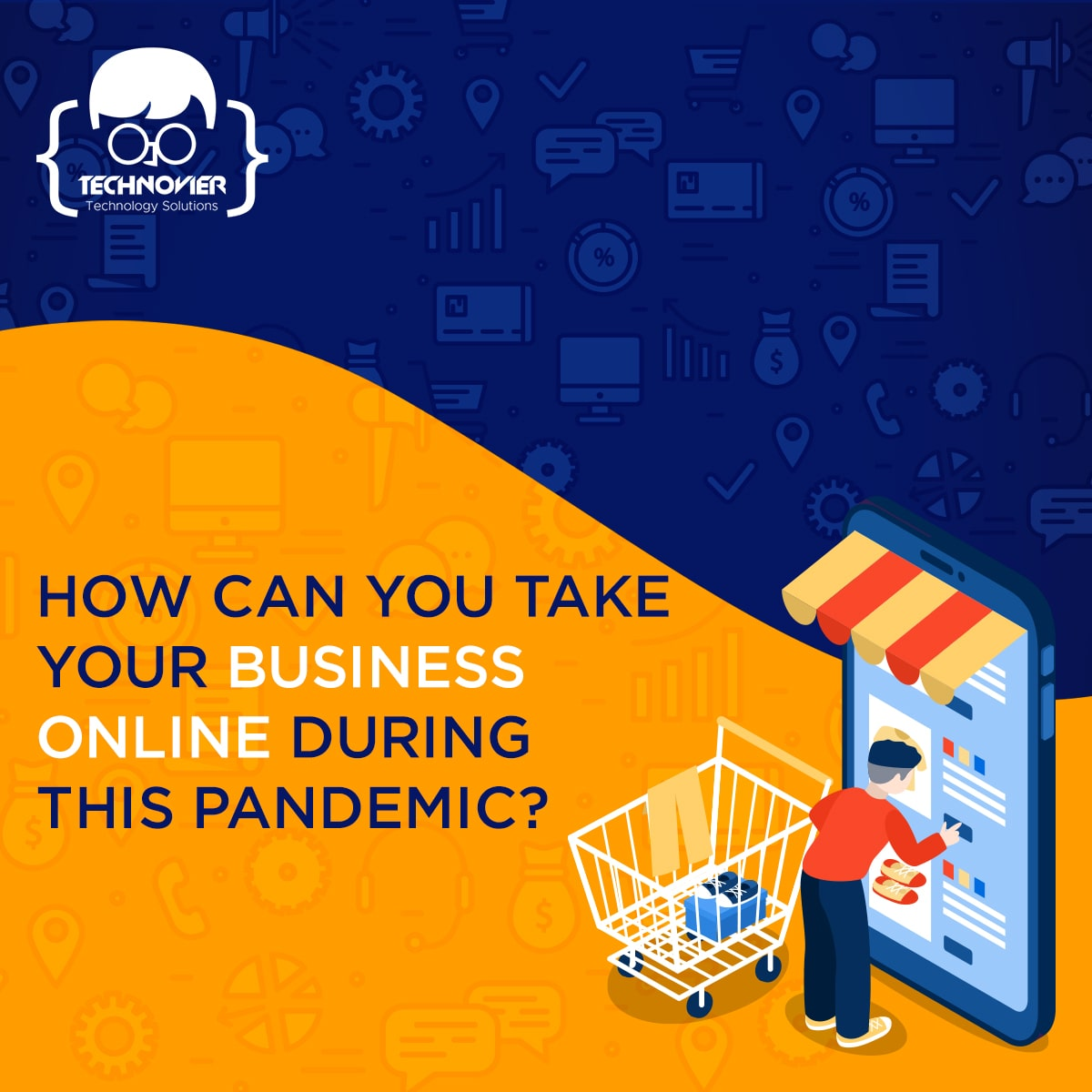 Banner how can you take your business online during this pandemic