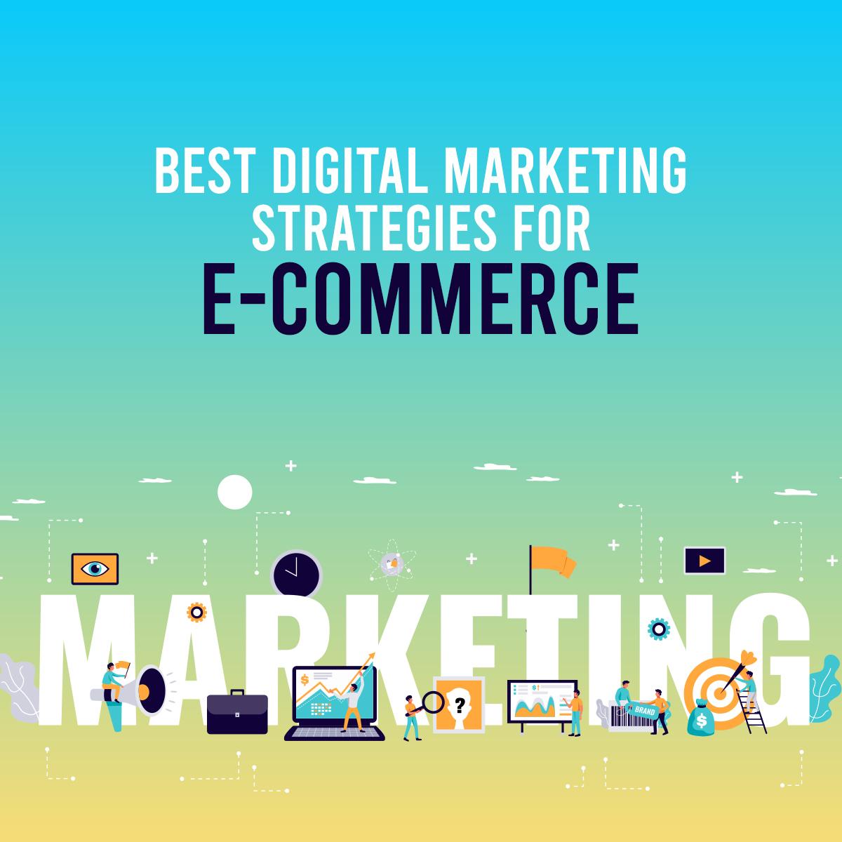 Digital Marketing Strategies for Ecommerce Stores Banner