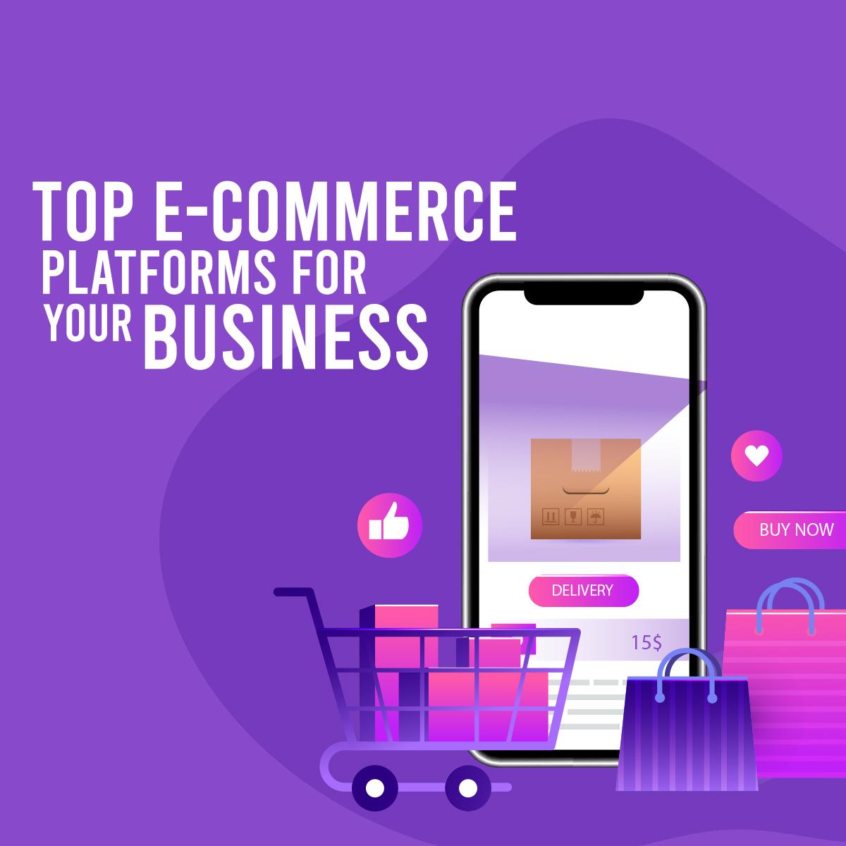 Ecommerce Platforms Banner