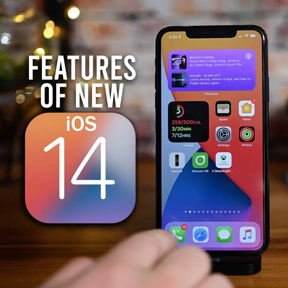 Features of New iOS 14 Banner