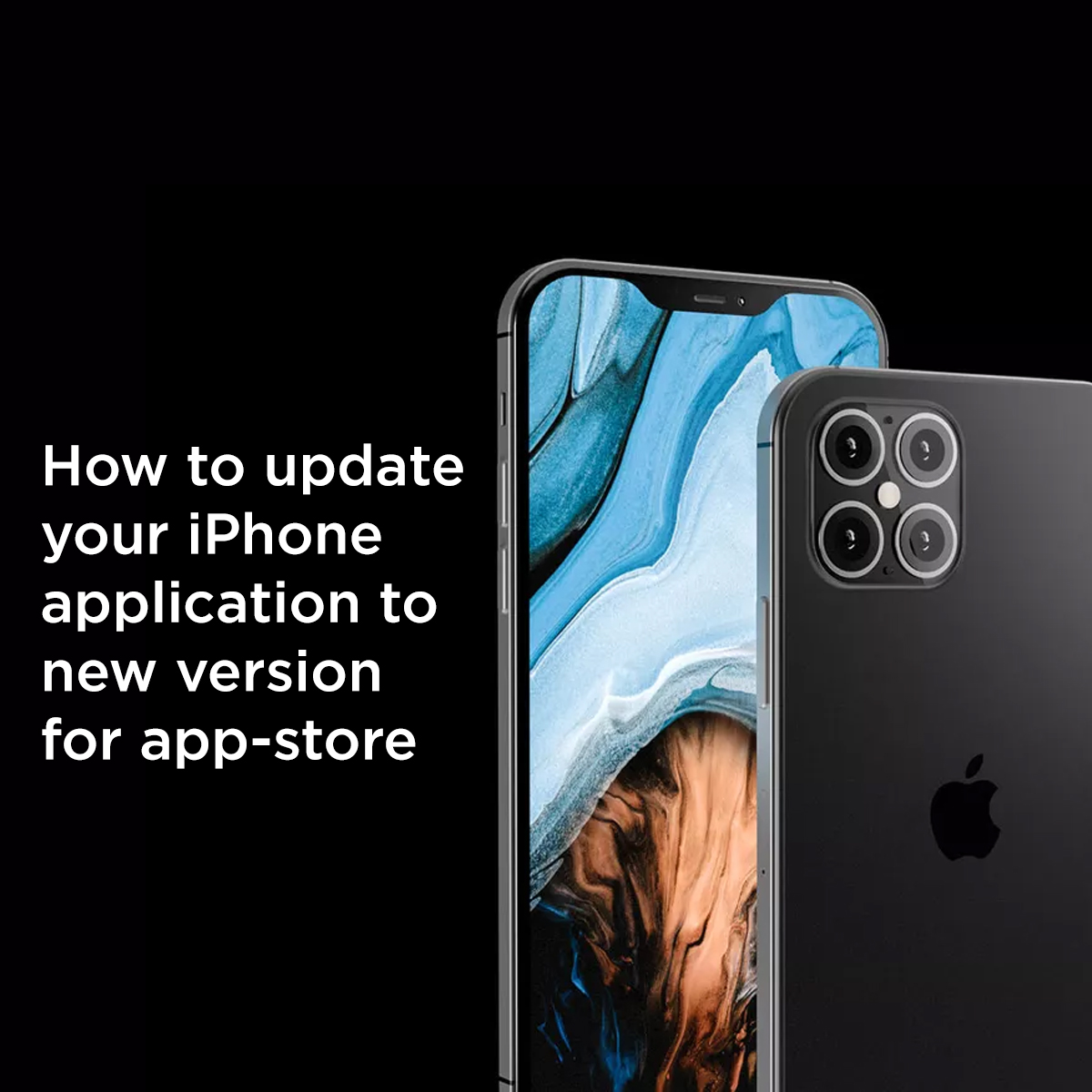 How to update iPhone application to New version Apple Store